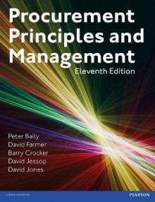Procurement, Principles & Management av Peter Baily, David Farmer, Barry Crocker, David Jessop og David Jones (Heftet)