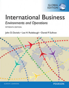 International Business, Global Edition av John D. Daniels, Lee H. Radebaugh og Daniel Sullivan (Heftet)