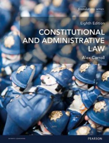 Fl. Carroll: Constitutional and Administrative Law MyLawChamber Pack av Alex Carroll (Blandet mediaprodukt)