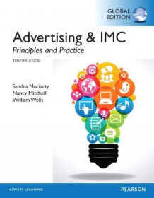Advertising & IMC: Principles and Practice, Global Edition av Sandra Moriarty, Nancy D Mitchell og William D Wells (Heftet)