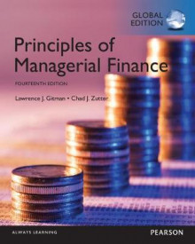 Principles of Managerial Finance, Global Edition av Lawrence J. Gitman og Chad J. Zutter (Heftet)
