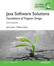 Java Software Solutions: Global Edition av John Lewis og William Loftus (Blandet mediaprodukt)