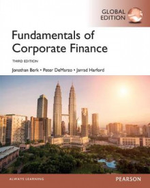 Fundamentals of Corporate Finance, Global Edition av Jonathan Berk, Peter DeMarzo og Jarrad Harford (Heftet)