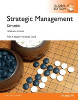 Omslag - Strategic Management: A Competitive Advantage Approach, Concepts with MyManagementLab