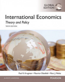 International Economics: Theory and Policy, Global Edition av Paul Krugman, Maurice Obstfeld og Marc Melitz (Heftet)