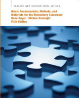 Omslag - Music Fundamentals, Methods, and Materials for the Elementary Classroom Teacher