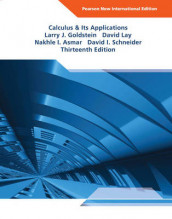 Calculus & Its Applications: Pearson New International Edition av Nakhle H. Asmar, Larry Joel Goldstein, David C. Lay og David I. Schneider (Heftet)