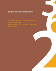 Mastering Modern Psychological Testing av Cecil R. Reynolds og Ronald B. Livingston (Heftet)