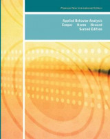 Omslag - Applied Behavior Analysis: Pearson New International Edition