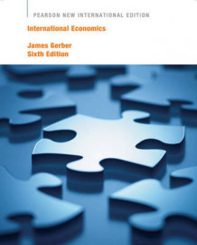 International Economics av James Gerber (Heftet)