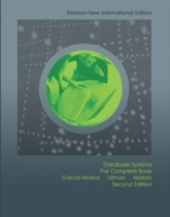 Database Systems: Pearson New International Edition av Hector Garcia-Molina, Jeffrey D. Ullman og Jennifer Widom (Heftet)