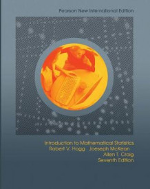 Introduction to Mathematical Statistics av Robert V. Hogg, Joseph W. McKean og Allen T. Craig (Heftet)