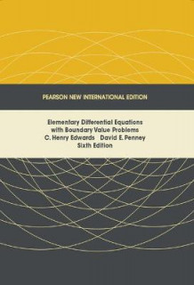 Elementary Differential Equations with Boundary Value Problems: Pearson New International Edition av C. Henry Edwards og David E. Penney (Heftet)