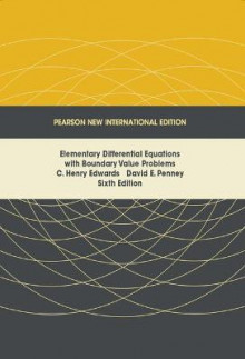Elementary Differential Equations with Boundary Value Problems av C. Henry Edwards og David E. Penney (Heftet)