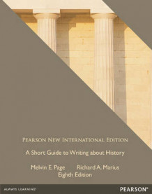 A Short Guide to Writing about History: Pearson New International Edition av Richard A. Marius og Melvin E. Page (Heftet)