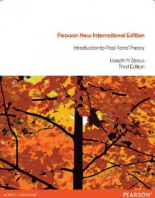 Introduction to Post-Tonal Theory av Joseph N. Straus (Heftet)