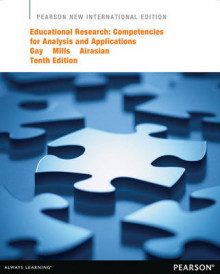 Educational Research av Lorraine R. Gay, Geoffrey E. Mills og Peter W. Airasian (Heftet)