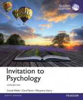 Invitation to Psychology, Global Edition av Carol Tavris og Carole Wade (Heftet)