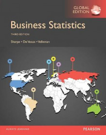 Business Statistics, Global Edition av Norean R. Sharpe, R. De Veaux og Paul Velleman (Heftet)