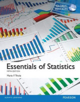Omslag - Essentials of Statistics, Global Edition