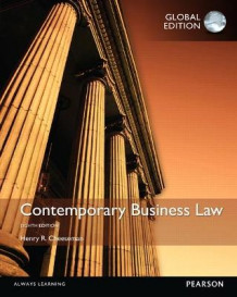 Contemporary Business Law, Global Edition av Henry R. Cheeseman (Heftet)
