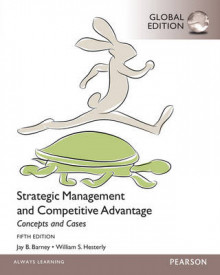 Strategic Management and Competitive Advantage Concepts and Cases av William S. Hesterly og Jay B. Barney (Heftet)