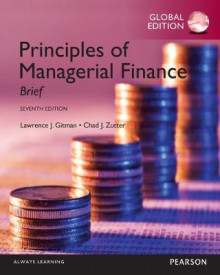 Principles of Managerial Finance: Brief, Global Edition av Lawrence J. Gitman og Chad J. Zutter (Heftet)