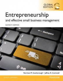 Entrepreneurship and Effective Small Business Management, Global Edition av Norman M. Scarborough (Heftet)