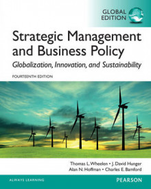 Strategic Management and Business Policy: Globalization, Innovation and Sustainability: Global Edition av Thomas L. Wheelen, J. David Hunger, Alan N. Hoffman og Charles E. Bamford (Heftet)