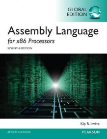 Assembly Language for x86 Processors, Global Edition av Kip R. Irvine (Heftet)