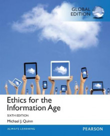 Ethics for the Information Age: Global Edition av Michael J. Quinn (Heftet)