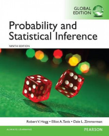 Probability and Statistical Inference, Global Edition av Robert V. Hogg og Elliot A. Tanis (Heftet)