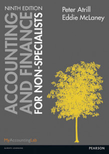 Accounting and Finance for Non-Specialists with MyAccountingLab av Eddie McLaney og Peter Atrill (Blandet mediaprodukt)