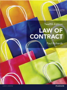 Law of Contract av Paul Richards (Heftet)