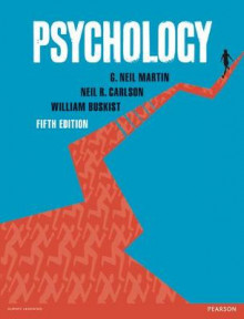 Psychology with MyPsychLab, Fifth Edition av G. Neil Martin, Neil R. Carlson og William Buskist (Blandet mediaprodukt)