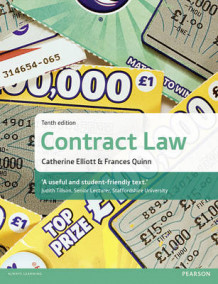 Contract Law av Catherine Elliott og Frances Quinn (Heftet)