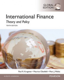 International Finance: Theory and Policy with MyEconLab av Paul Krugman, Maurice Obstfeld og Marc Melitz (Blandet mediaprodukt)