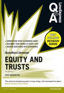 Law Express Question and Answer: Equity and Trusts(Q&A Revision Guide) av John Duddington (Heftet)