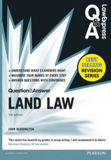 Law Express Question and Answer: Land Law(Q&A Revision Guide) av John Duddington (Heftet)