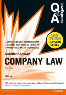 Law Express Question and Answer: Company Law (Q&A Revision Guide) av Fang Ma (Heftet)