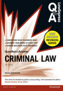 Law Express Question and Answer: Criminal Law (Q&A Revision Guide) av Nicola Monaghan (Heftet)