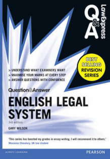 Law Express Question and Answer: English Legal System(Q&A Revision Guide) av Gary Wilson (Heftet)