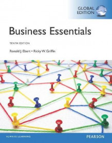 Business Essentials with MyBizLab av Ronald Ebert og Ricky Griffin (Blandet mediaprodukt)