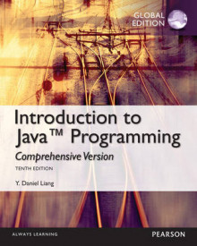 Intro to Java Programming, Comprehensive Version, Global Edition av Y. Daniel Liang (Blandet mediaprodukt)