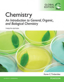 Chemistry: An Introduction to General, Organic, and Biological Chemistry with MasteringChemistry, Global Edition av Karen C. Timberlake (Blandet mediaprodukt)