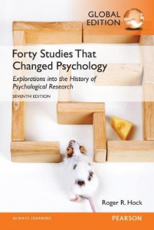 Forty Studies That Changed Psychology av Roger R. Hock (Heftet)