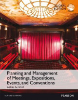 Omslag - Planning and Management of Meetings, Expositions, Events and Conventions, Global Edition