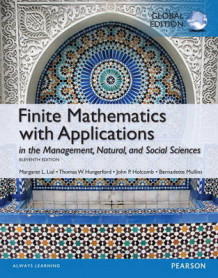 Finite Mathematics with Applications In the Management, Natural, and Social Sciences with MyMathLab Global Edition av Margaret L. Lial, Thomas W. Hungerford og John P. Holcomb (Blandet mediaprodukt)