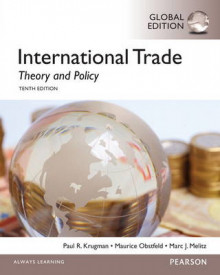 International Trade: Theory and Policy with Myeconlab av Paul Krugman, Maurice Obstfeld og Marc Melitz (Blandet mediaprodukt)
