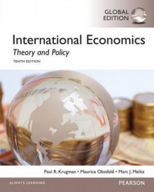 International Economics: Theory and Policy with Myeconlab av Paul Krugman, Maurice Obstfeld og Marc Melitz (Blandet mediaprodukt)